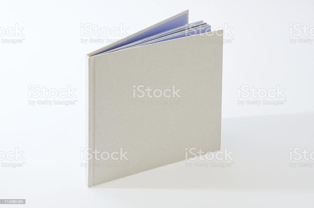 Blank Book... royalty-free stock photo