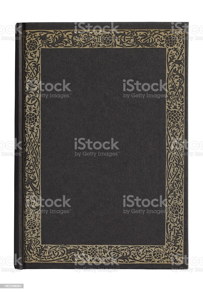 Blank Book(with clipping path) royalty-free stock photo