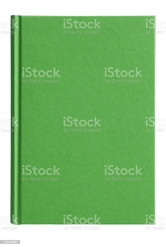 Blank Book(with clipping path) stock photo