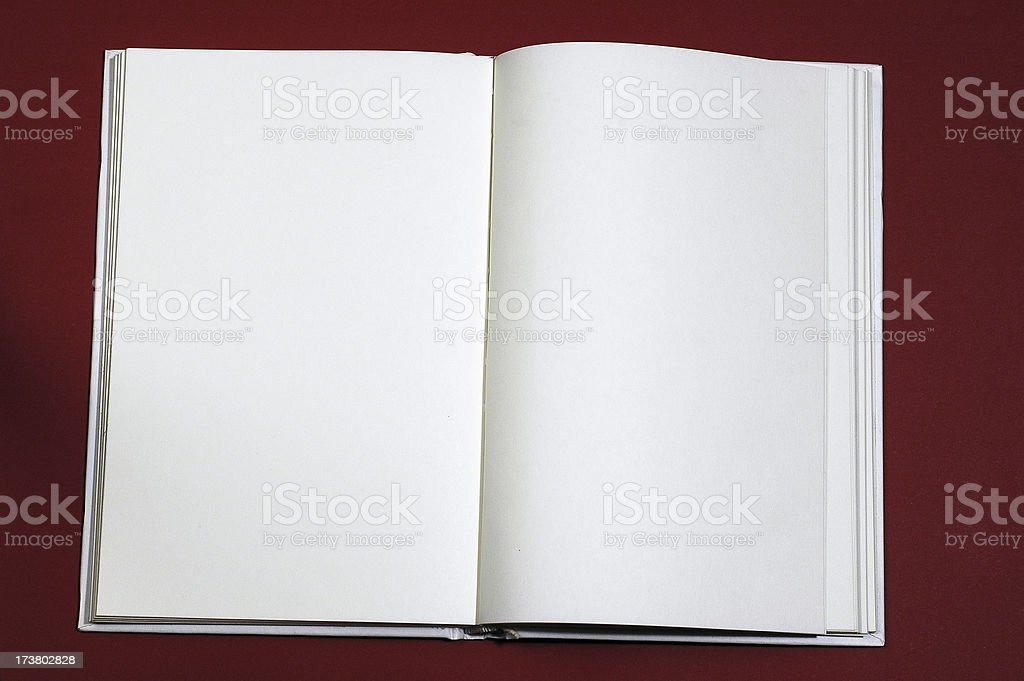 Blank Book royalty-free stock photo