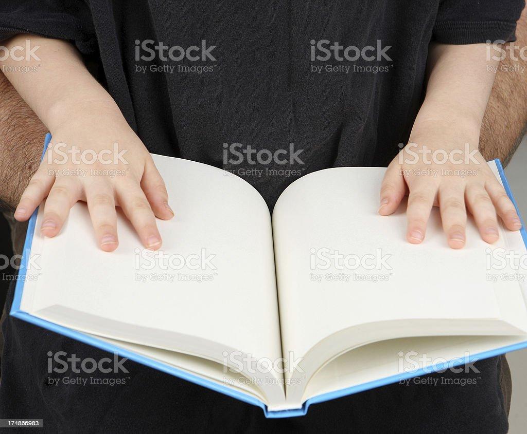 Blank Book royalty-free stock photo