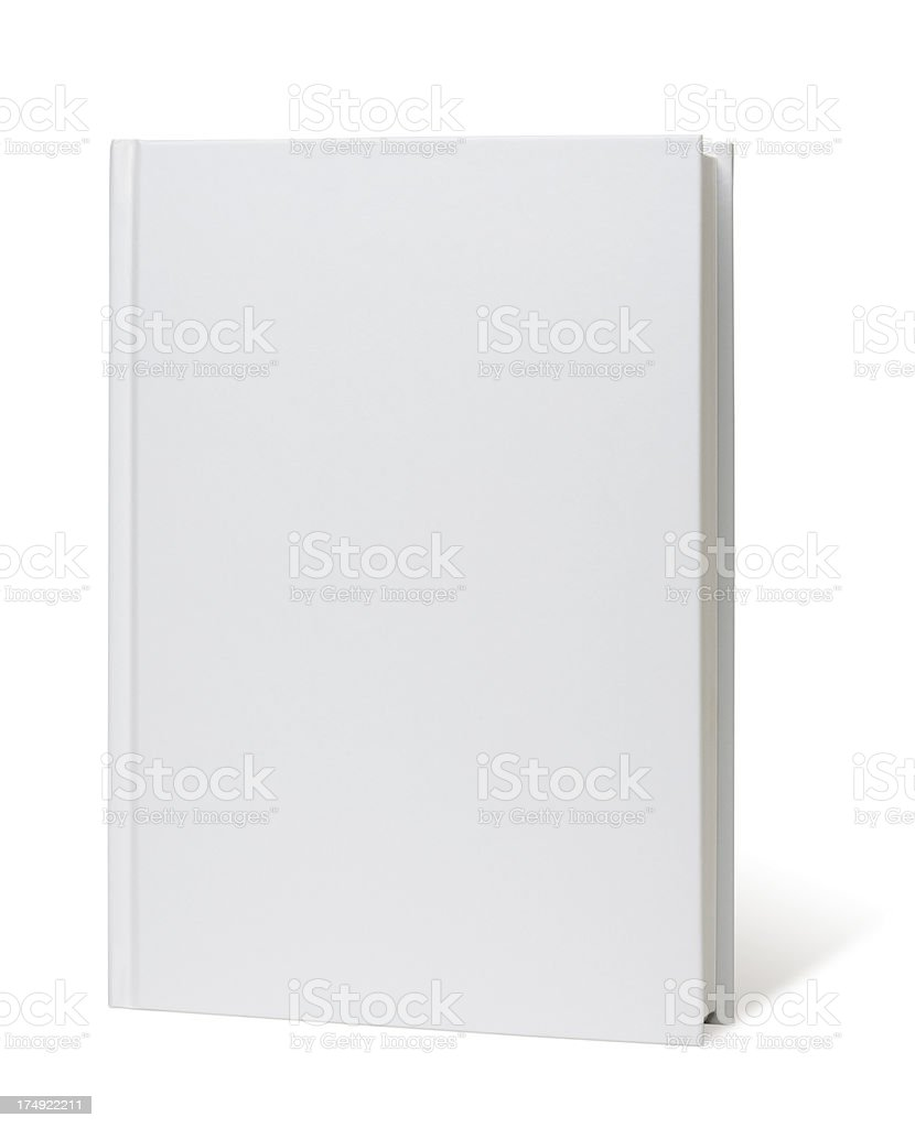 Blank Book stock photo