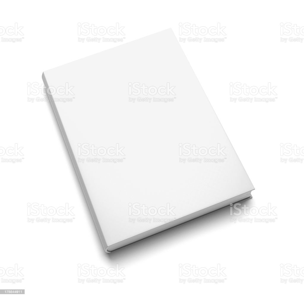 Blank Book Cover White Stock Photo, Picture And Royalty Free Image ...