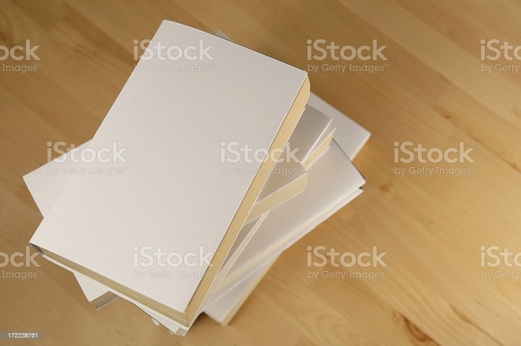 blank book series royalty-free stock photo