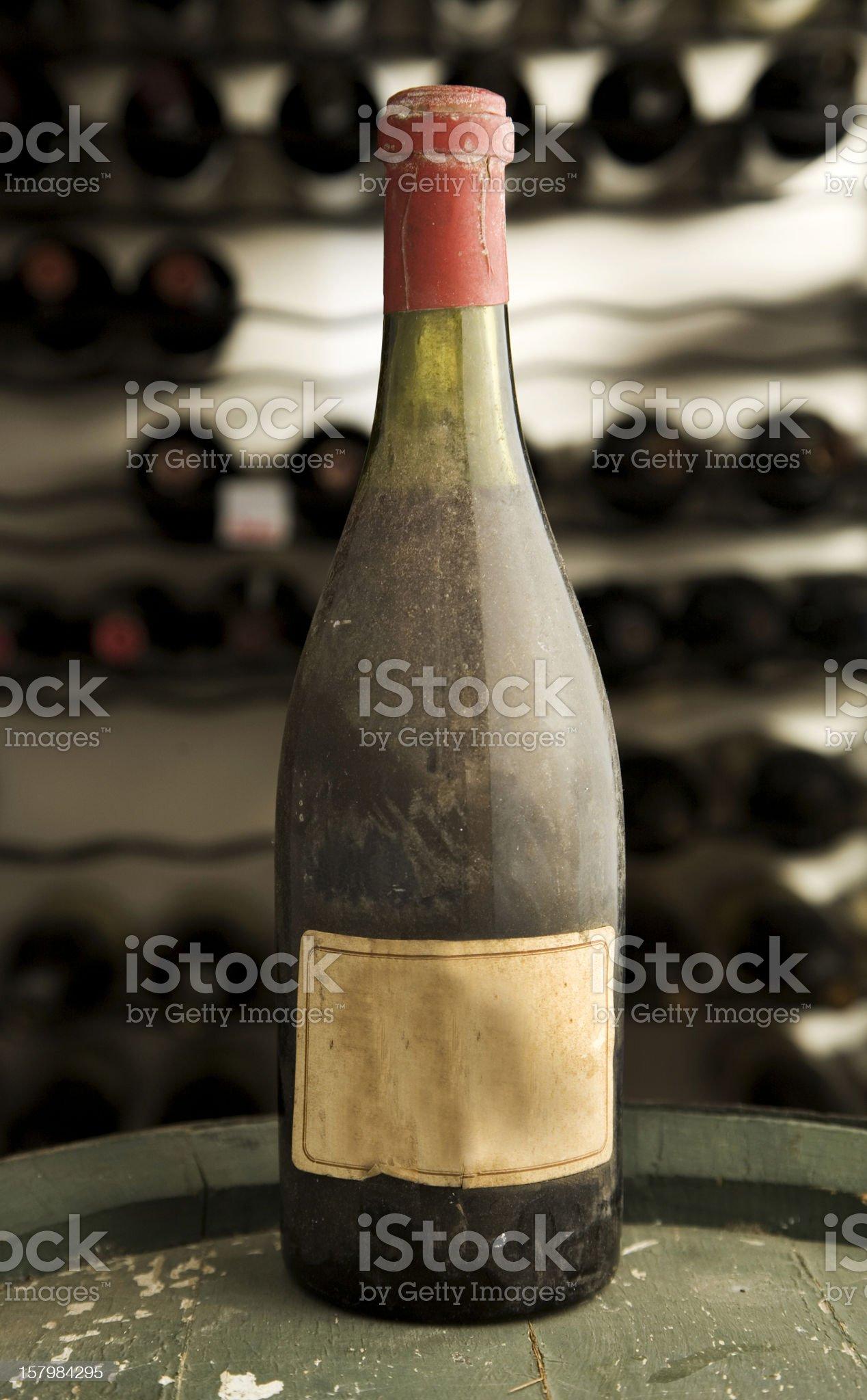 Blank Bottle royalty-free stock photo