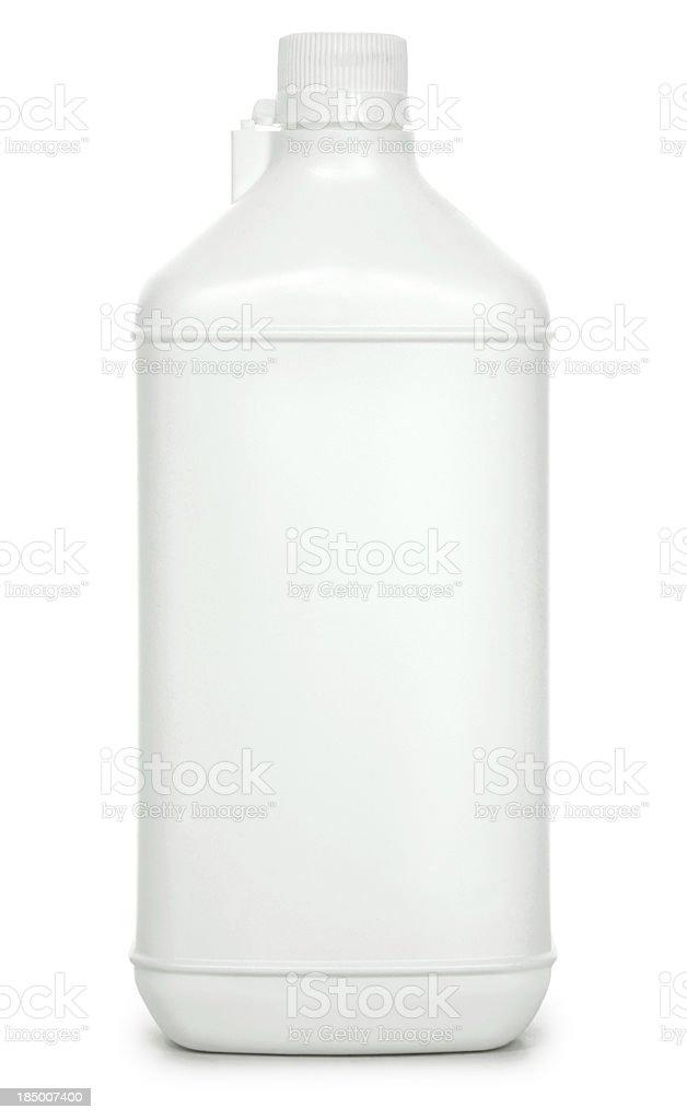 Blank Bottle stock photo