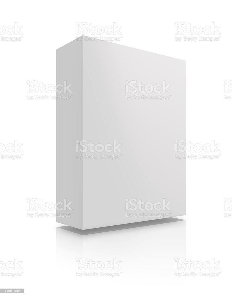 Blank Box - XL royalty-free stock photo