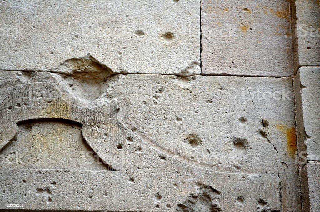 blank canvas or concrete texture stock photo