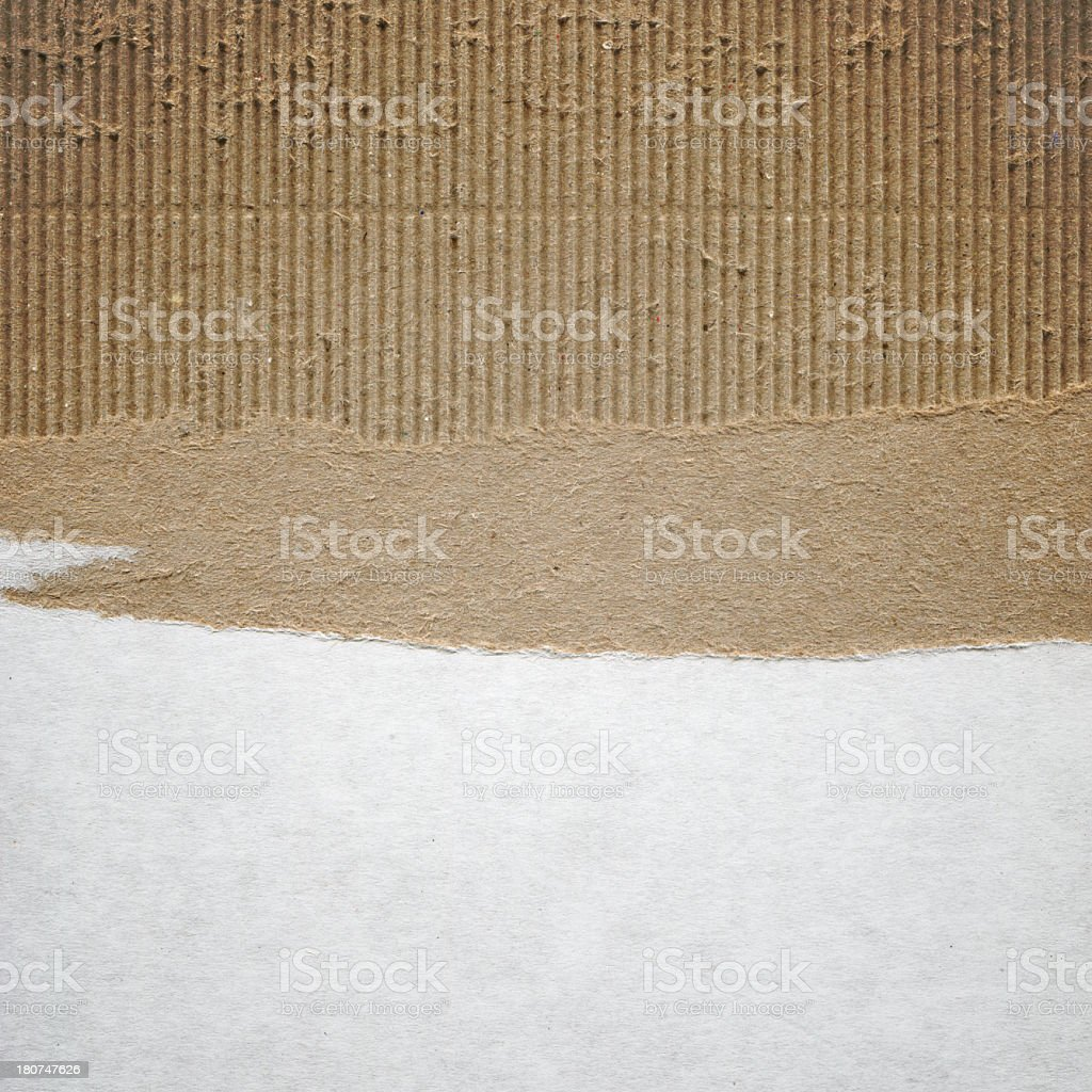 Blank cardboard paper textured background royalty-free stock photo