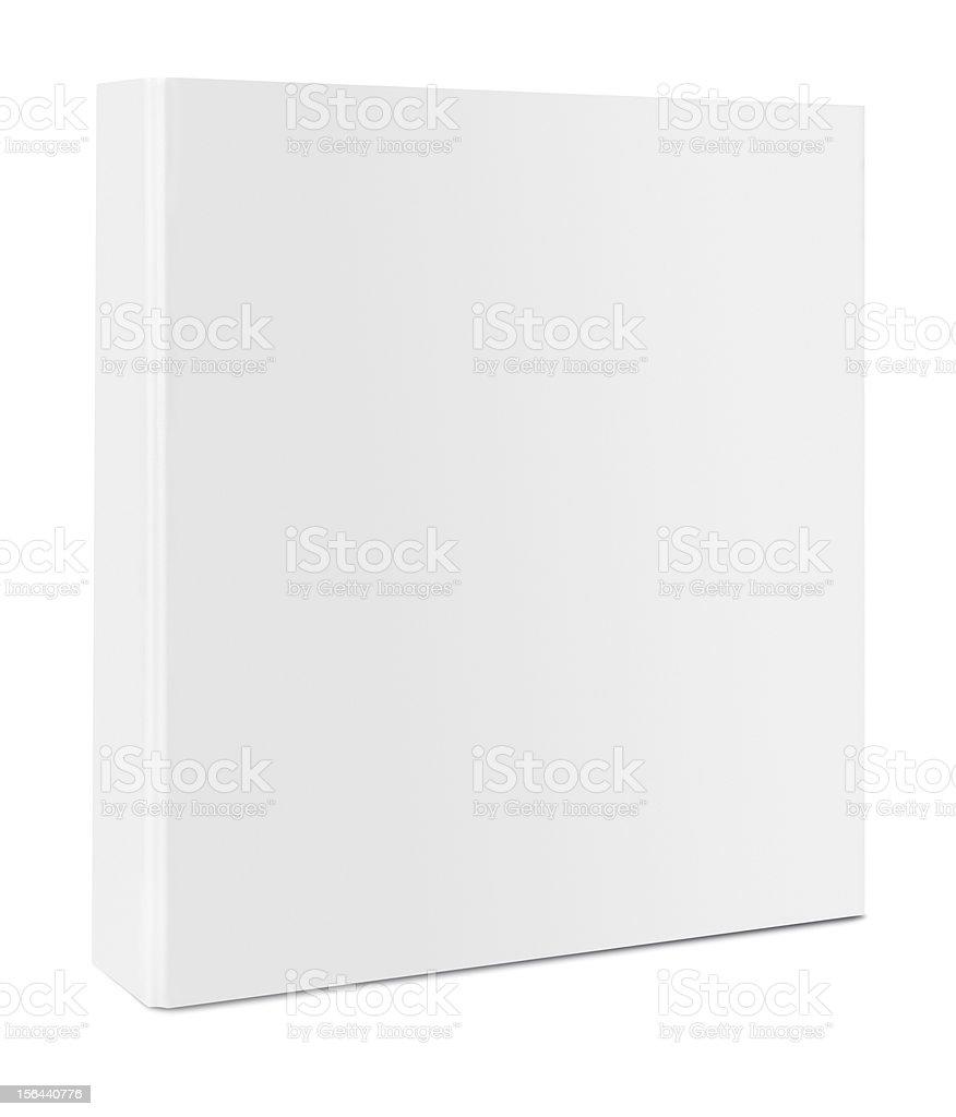 Blank case binder stock photo