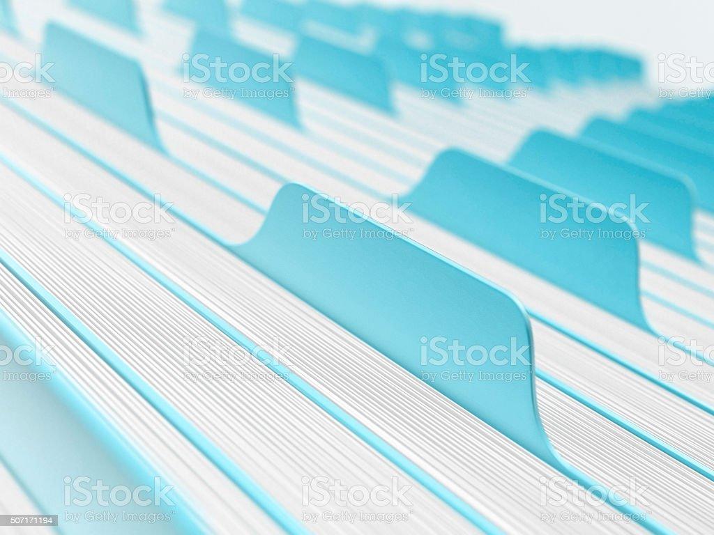 Blank catalog stock photo