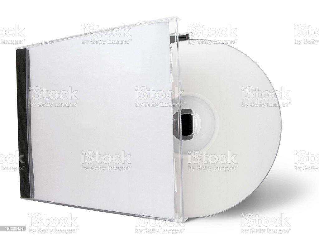 blank cd stock photo