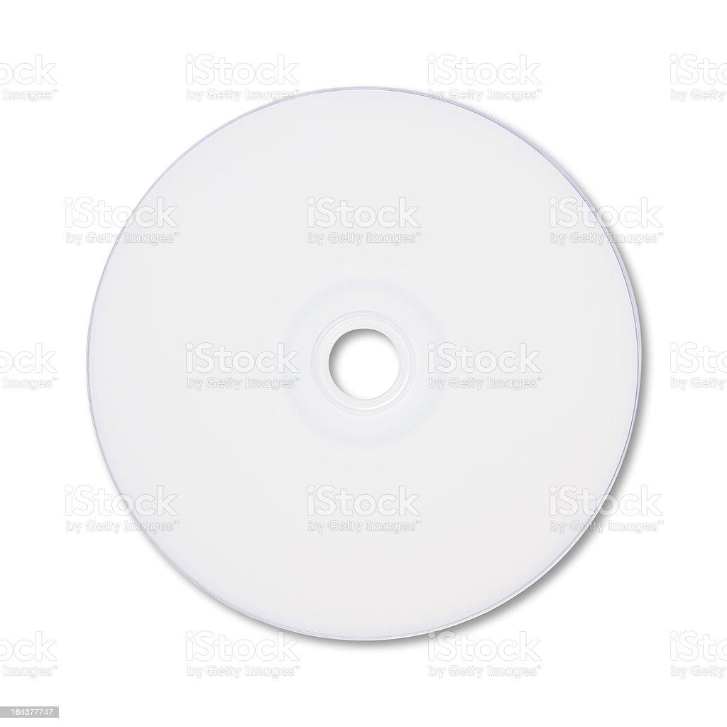 Blank CD/DVD stock photo