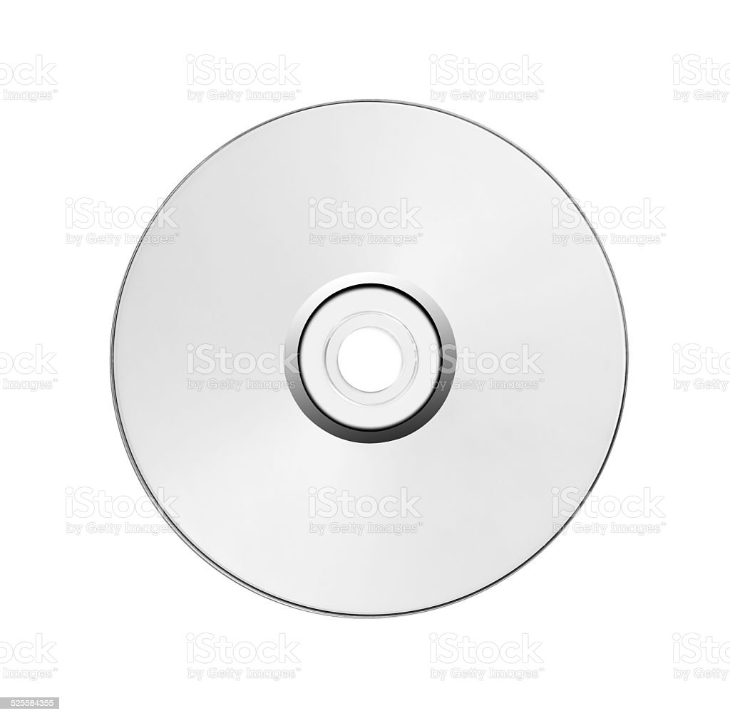 Blank CD/DVD stock photo