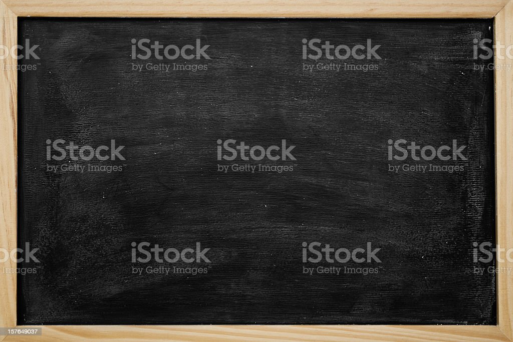 Blank chalkboard background royalty-free stock photo