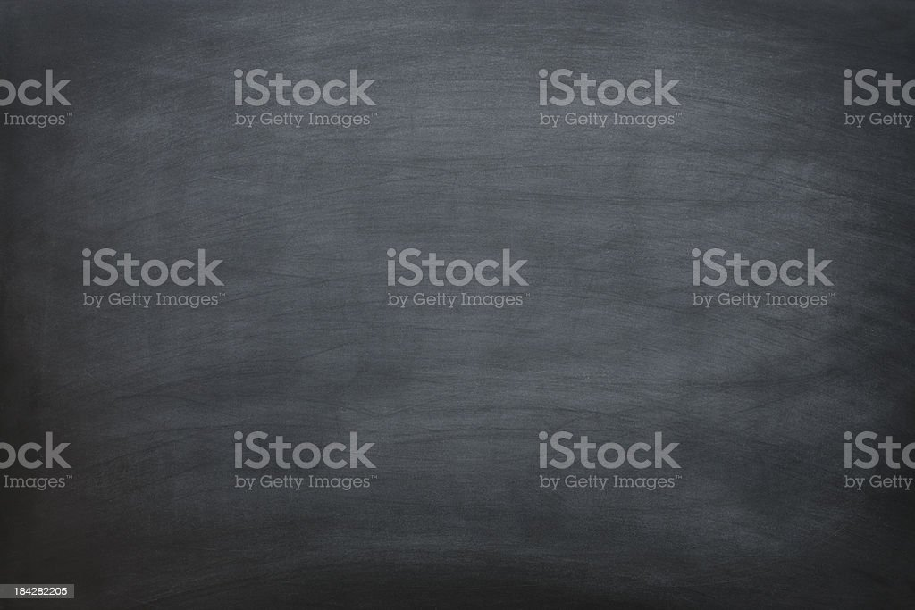 Blank chalkboard. royalty-free stock photo