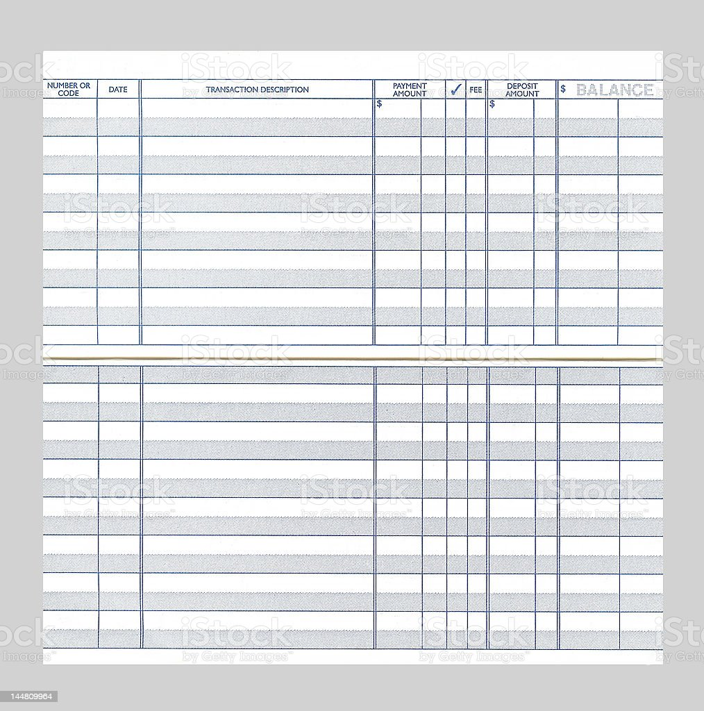 printable check registers