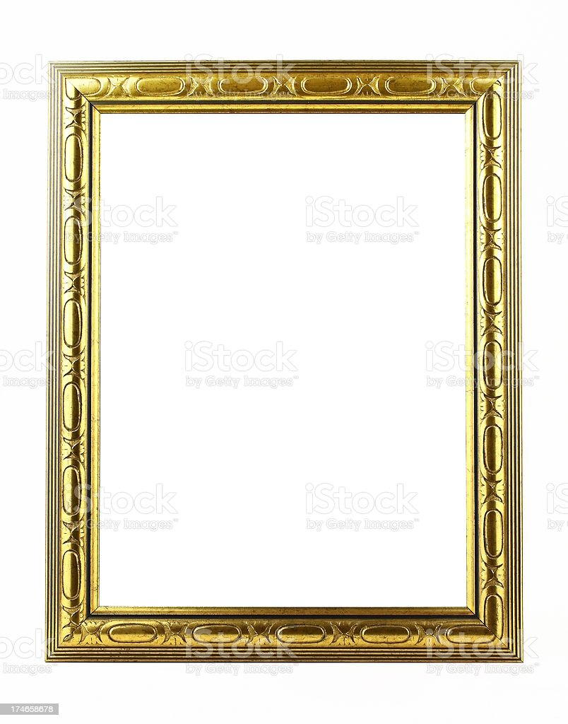 Blank Classical frame royalty-free stock photo