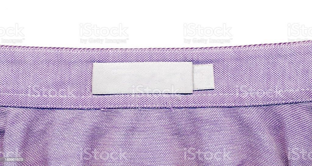 blank Clothes trademark royalty-free stock photo