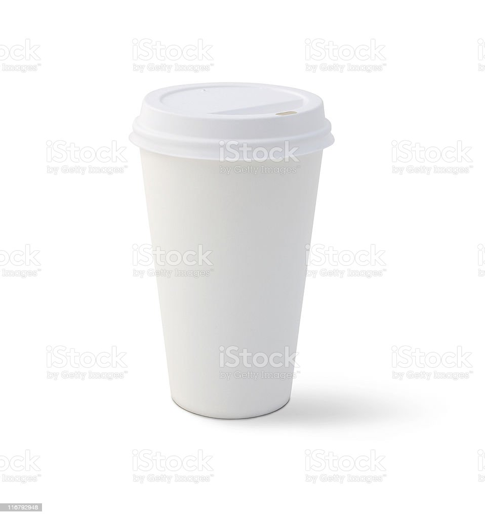 Blank Coffee Cup royalty-free stock photo