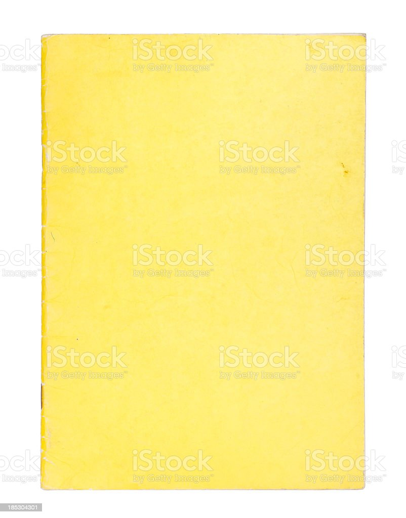 XXL Blank comic book cover stock photo