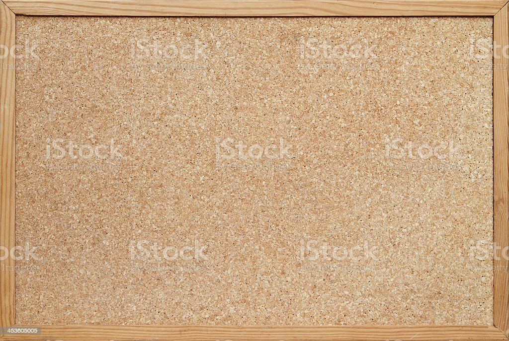blank cork board background stock photo