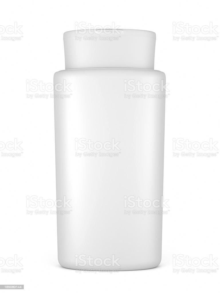 blank cosmetics containers stock photo