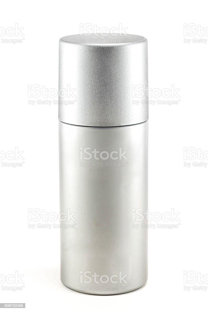 Blank deodorant container stock photo