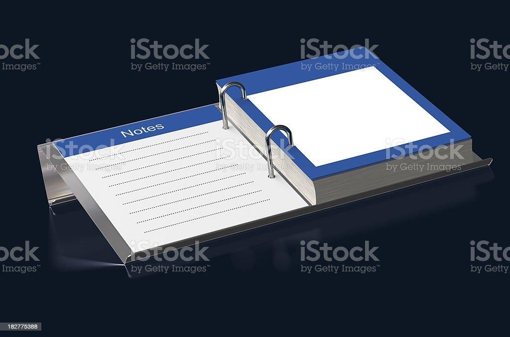 Blank Desk Organiser royalty-free stock photo