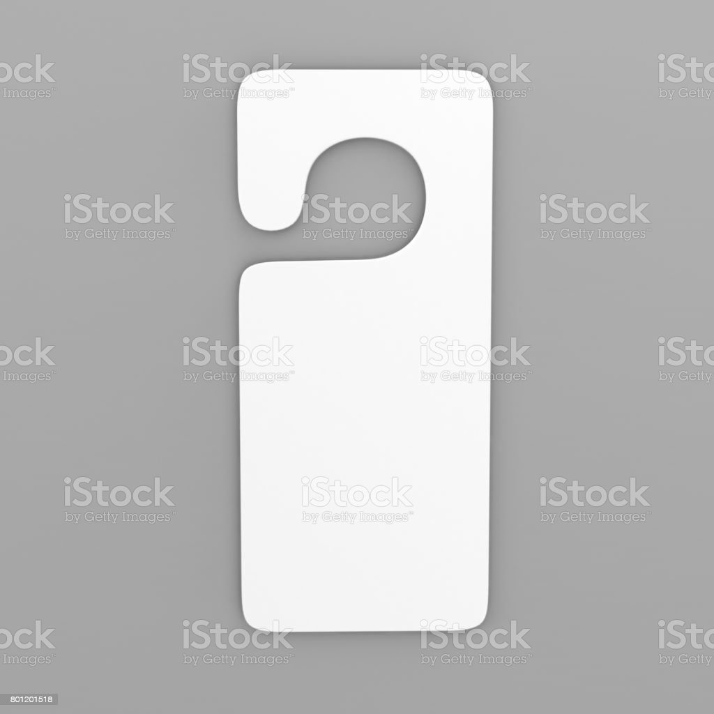 Door Hanger Template Pictures, Images And Stock Photos - Istock