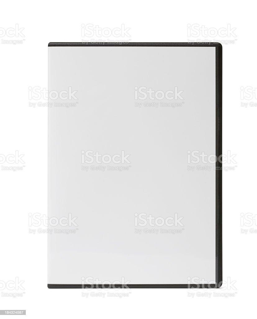 Blank DVD Case royalty-free stock photo
