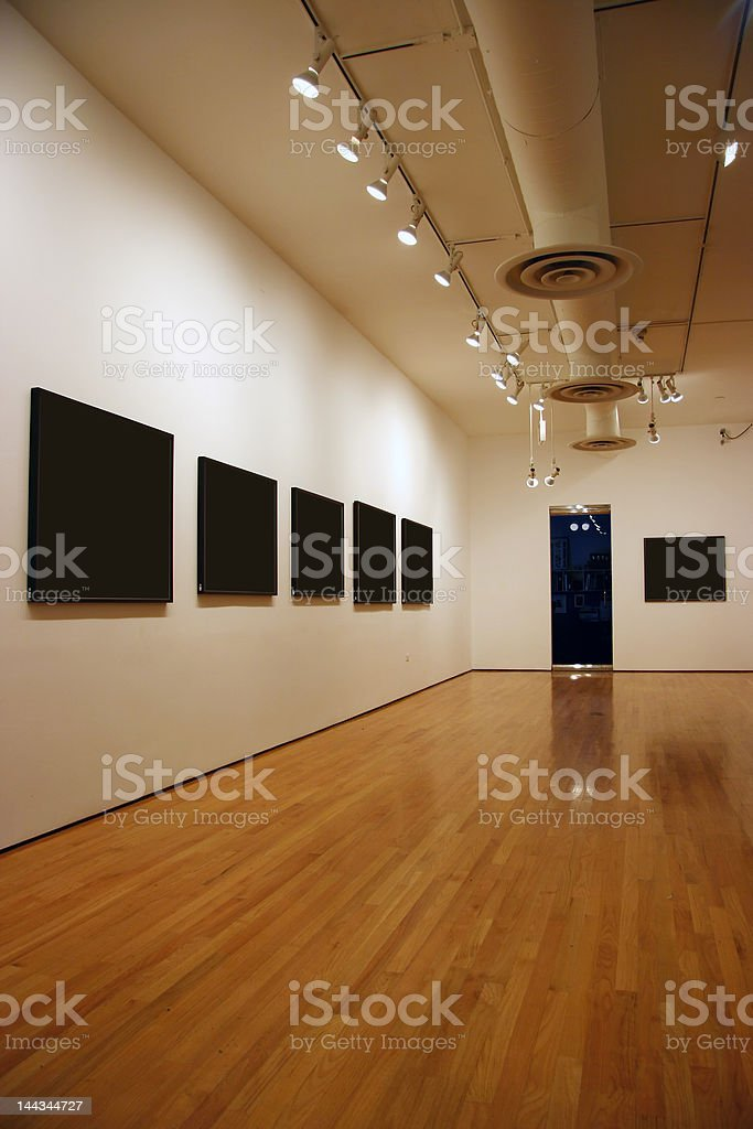 Blank exposition royalty-free stock photo