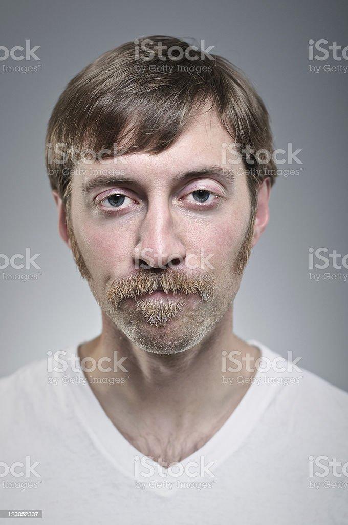 Blank Expression Portrait stock photo