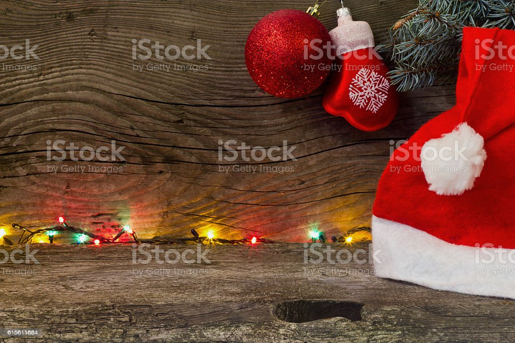 blank for congratulations on Christmas and New Year stock photo