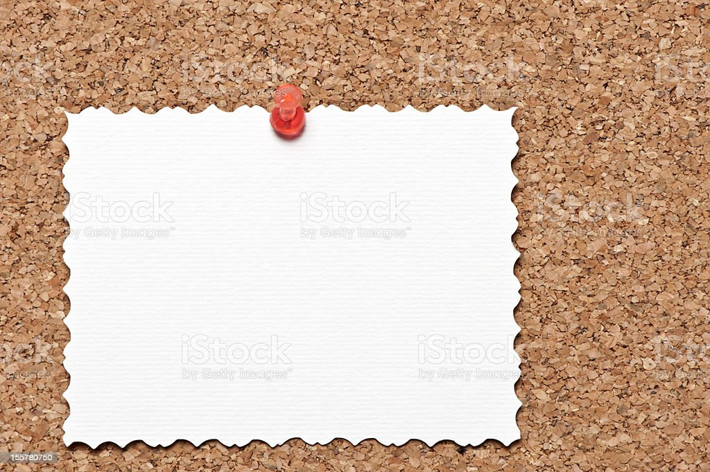 Blank form on wooden board royalty-free stock photo