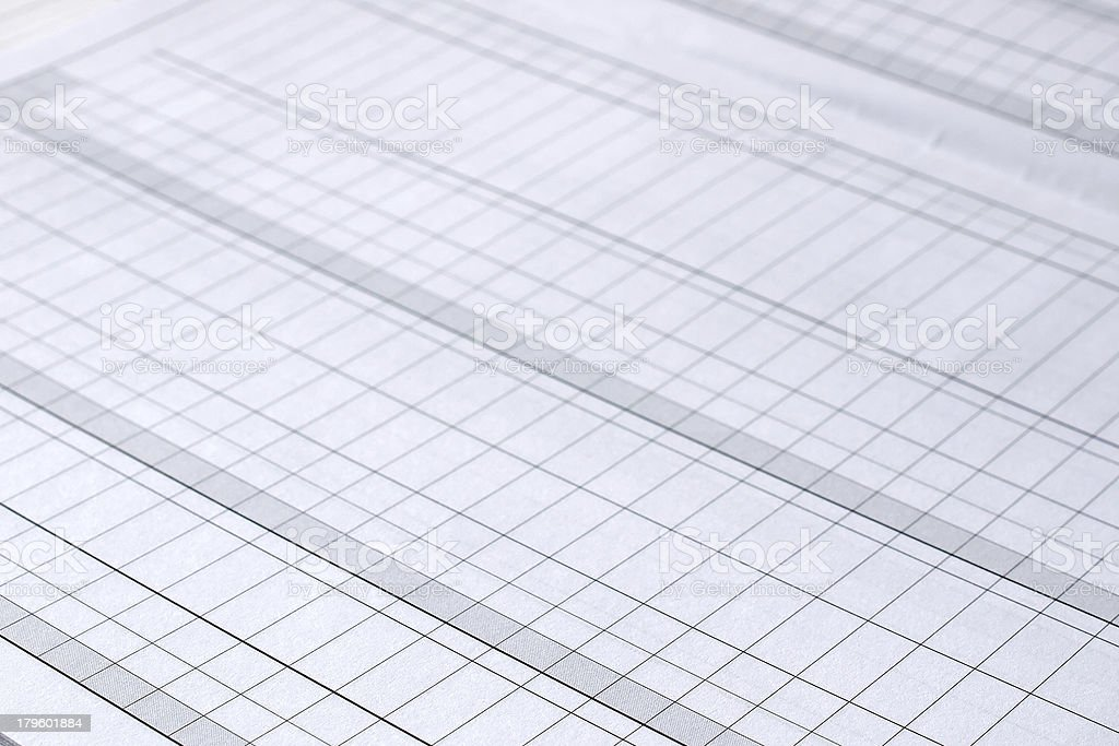 Blank form royalty-free stock photo