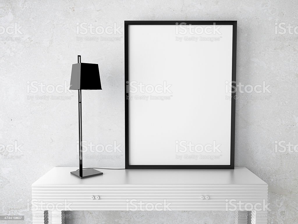 blank  frame stock photo