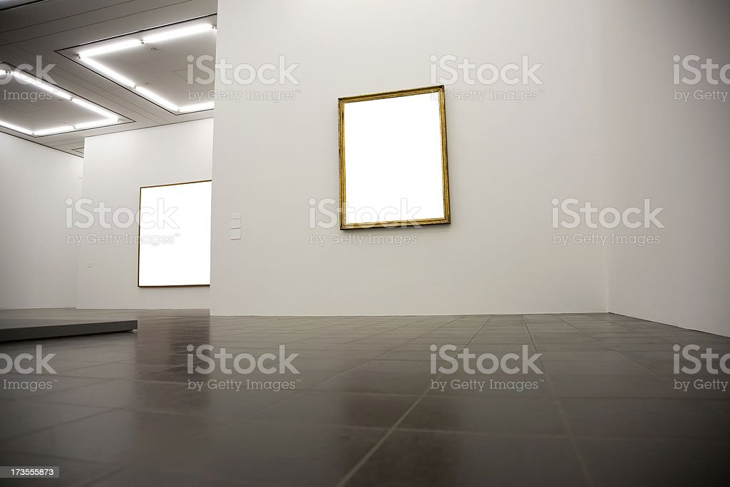 blank frames royalty-free stock photo