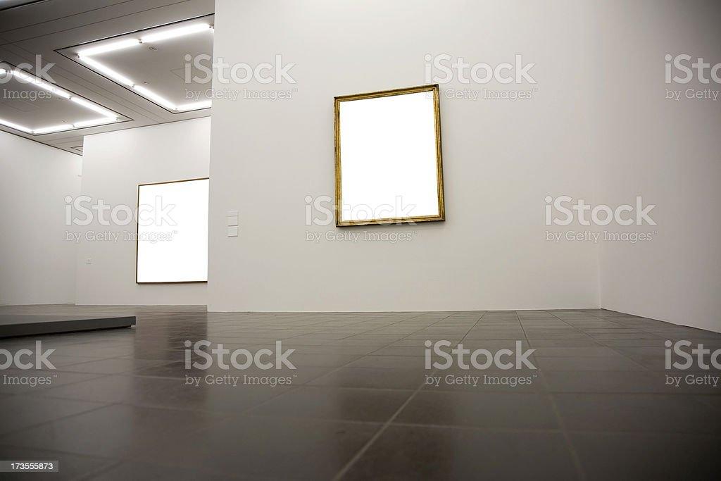 blank frames stock photo