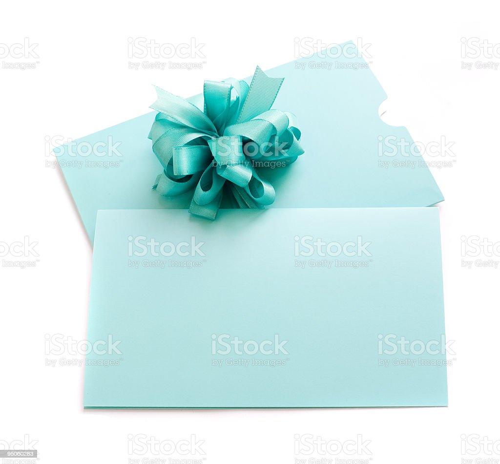 blank gift tag royalty-free stock photo