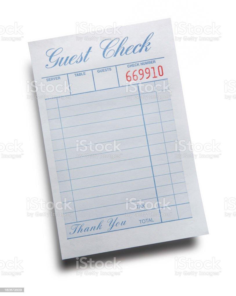 Leere Guest Check-in – Foto