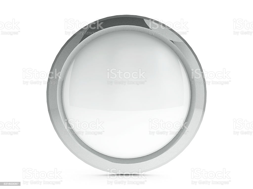 Blank icon with highlight stock photo
