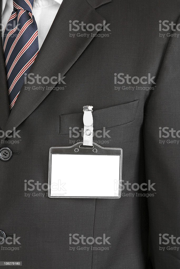 blank id card stock photo
