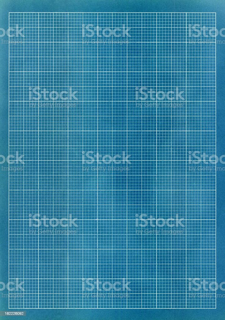 A blank image of a blue and white grid royalty-free stock photo