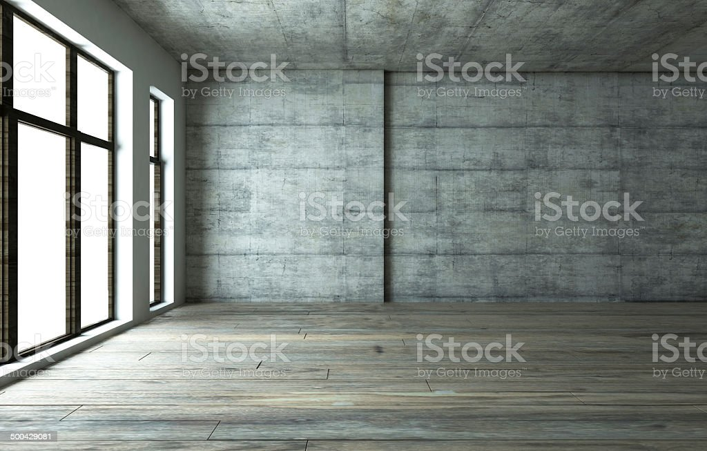 blank Interior stock photo