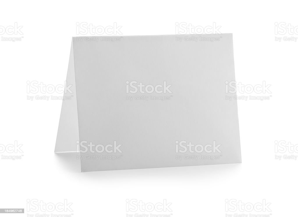Blank Invitation stock photo