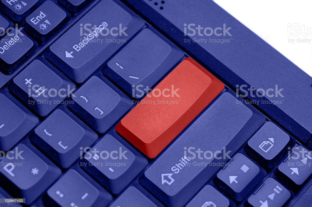 blank keyboard background for any concept photo royalty-free stock photo