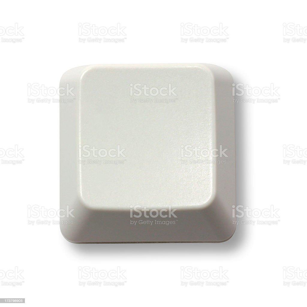 Blank Keyboard Button stock photo