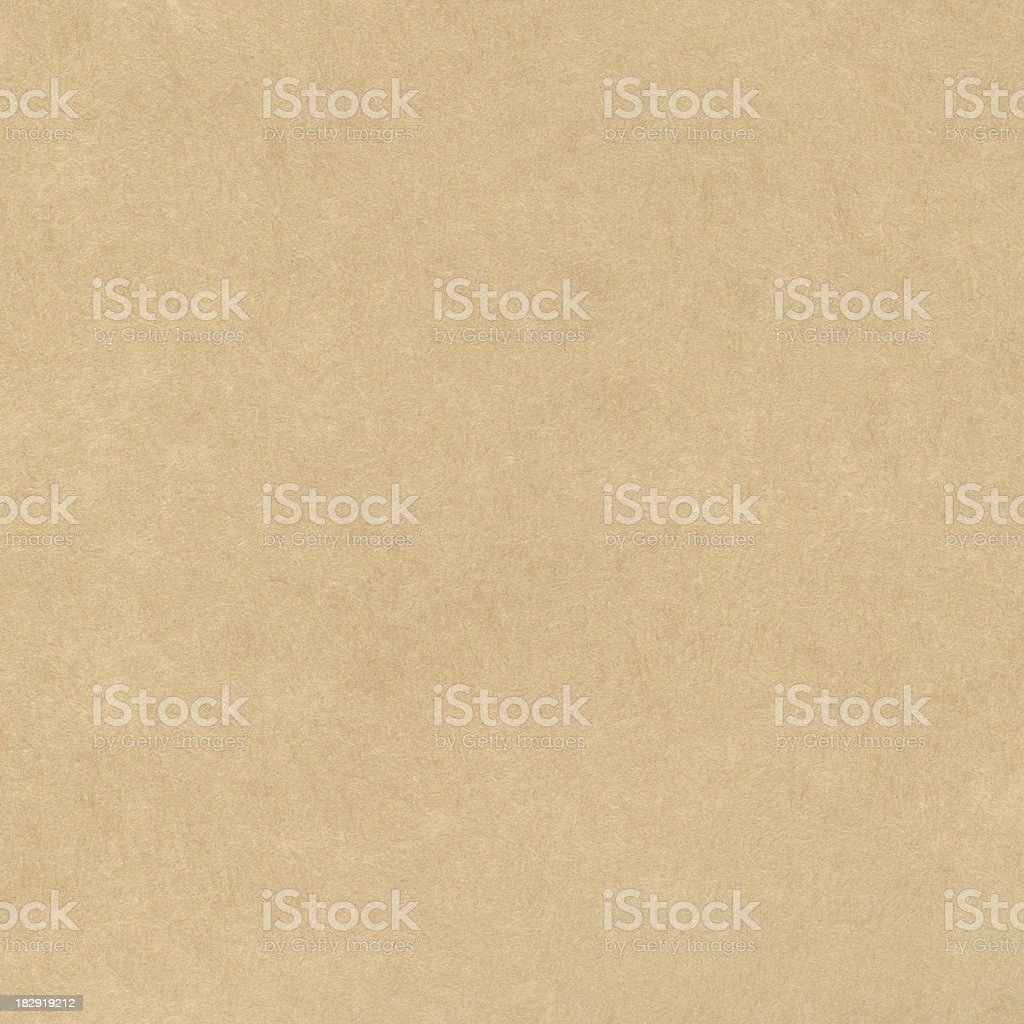 Blank light brown recycled paper background royalty-free stock photo