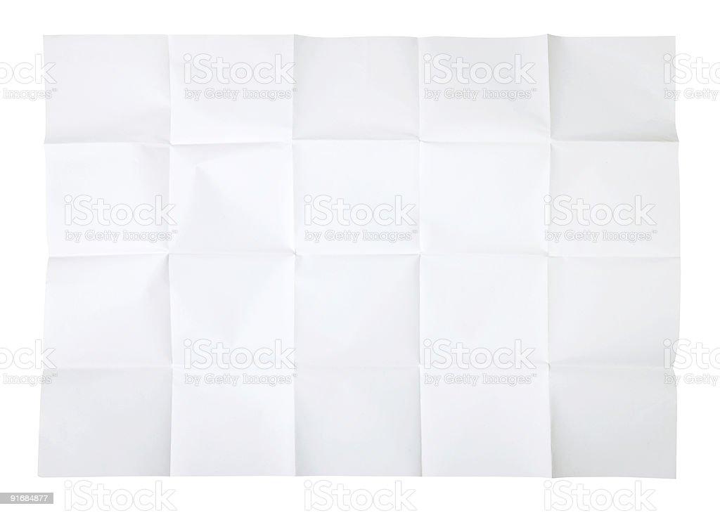 Blank map royalty-free stock photo